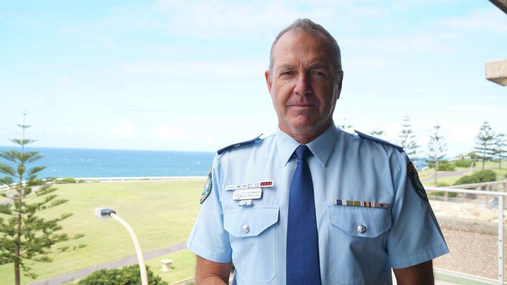 Northern Region Commander Assistant Commissioner Max Mitchell.