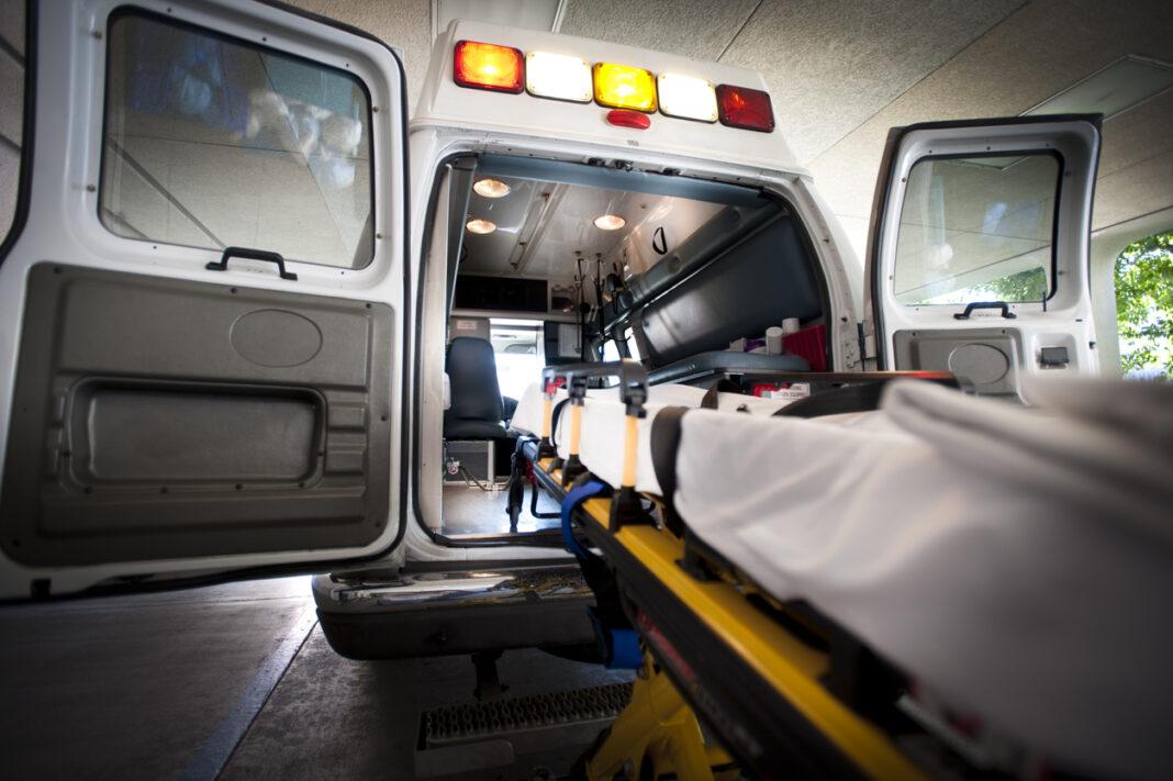 Ambulance and Gurney