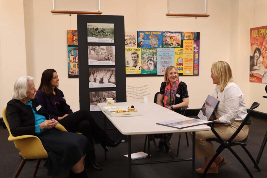 Memory Room participants Sarah Greentree-Beddow and her mother Sandra Greentree program facilitator Alice Ropata and Lord Mayor Nuatali Nelmes