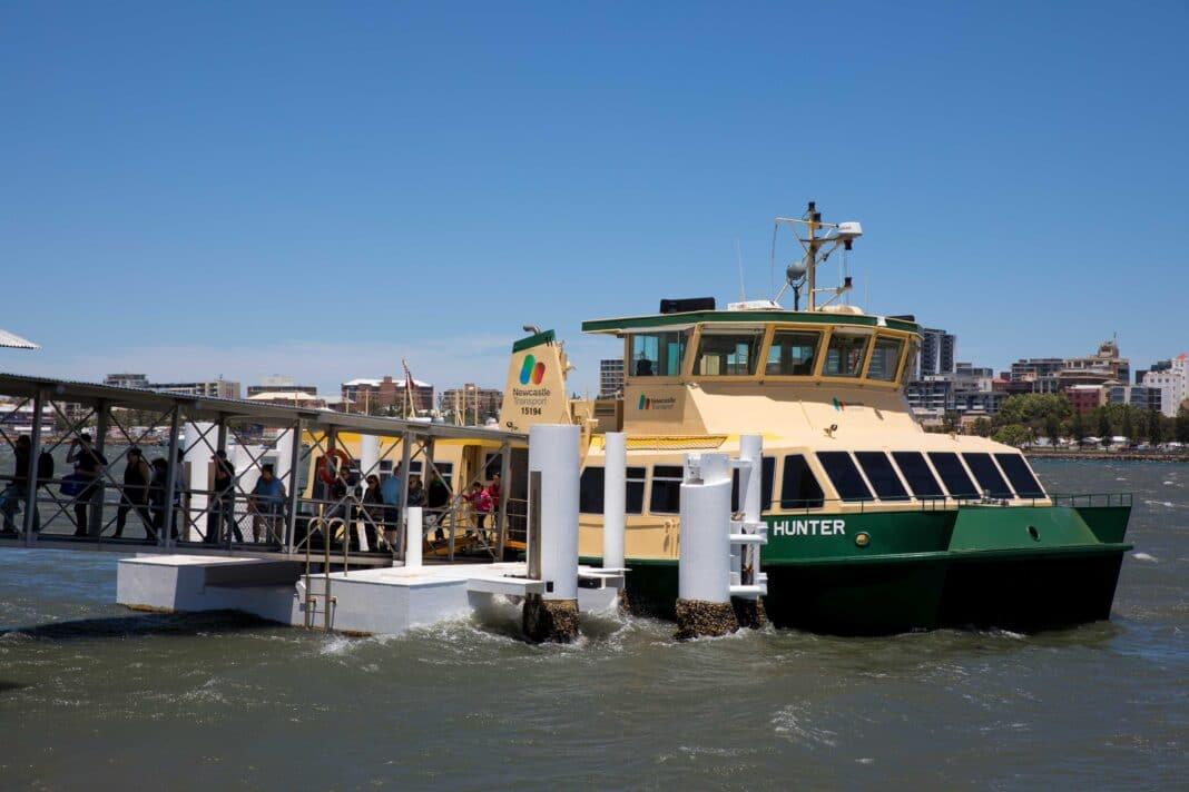 Stockton Ferry Wharf in November 2018