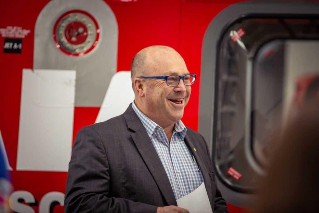 WRHS CEO Richard Jones OAM