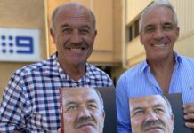 Wally Lewis and Steve Haddan