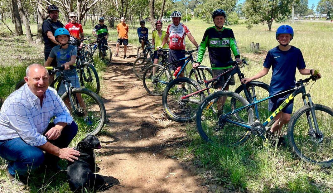 Upper Hunter bike riders