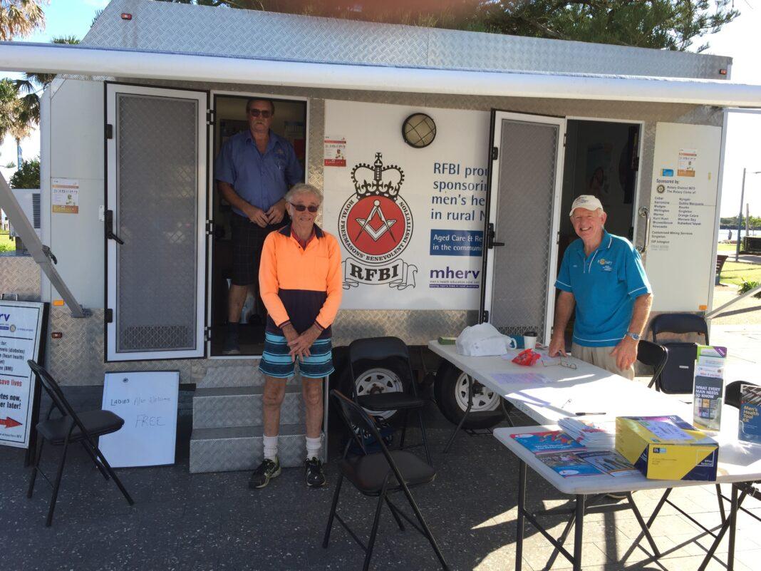 Rotary Club Health Checks