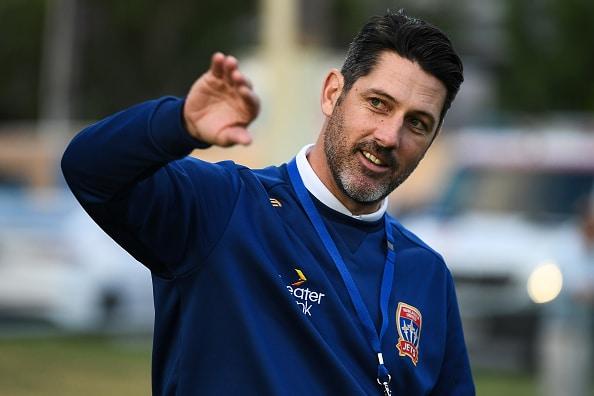 Newcastle Jets coach