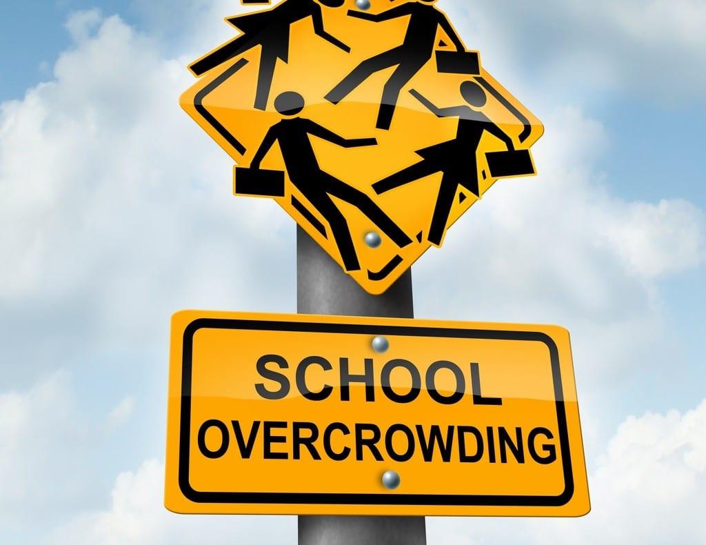 school over-crowding