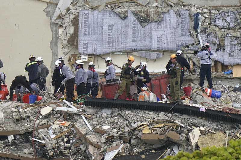 Miami building collapse condo death toll