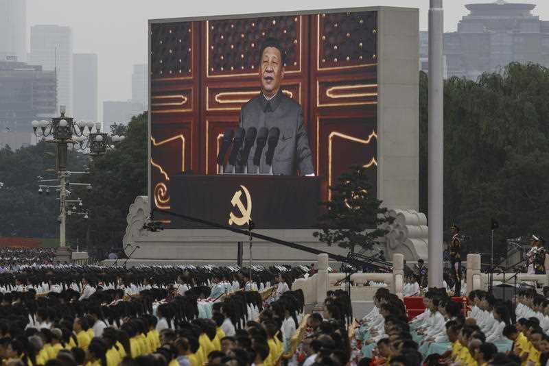 China centenary address xi jinping