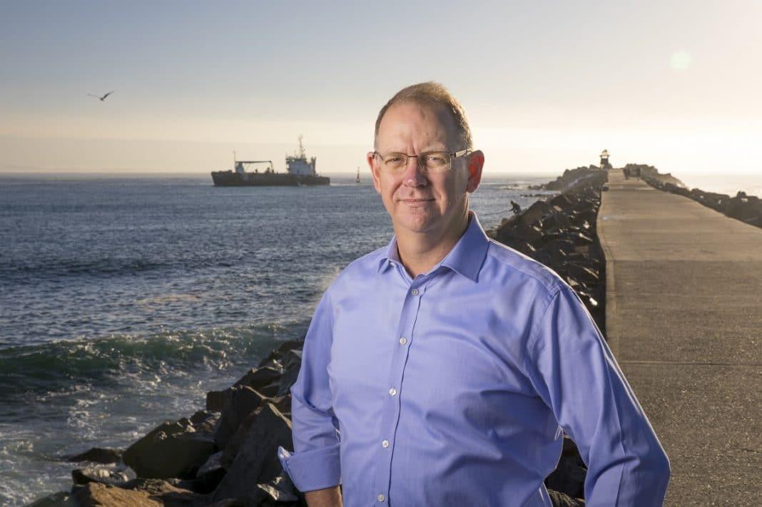 Port of Newcastle CEO Craig Carmody
