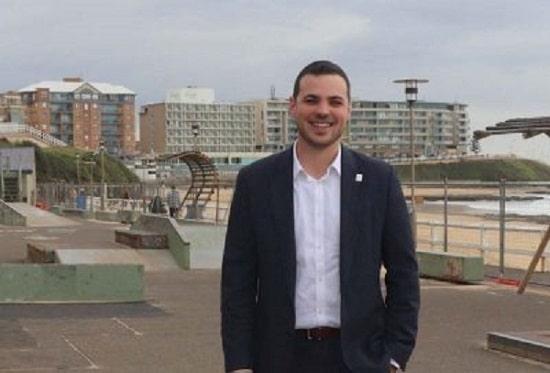 Newcastle Deputy Lord Mayor Declan Clausen.